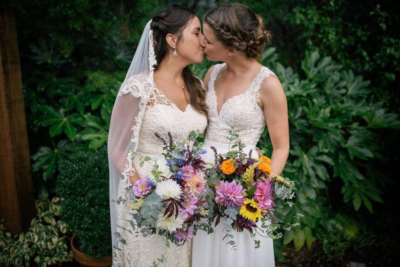 LGBT - Sarah P Duke Gardens Wedding