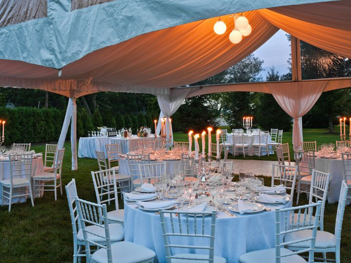 Tmx 1366657719111 Westminster Hotel Outdoor Twilight Reception Livingston, NJ wedding venue