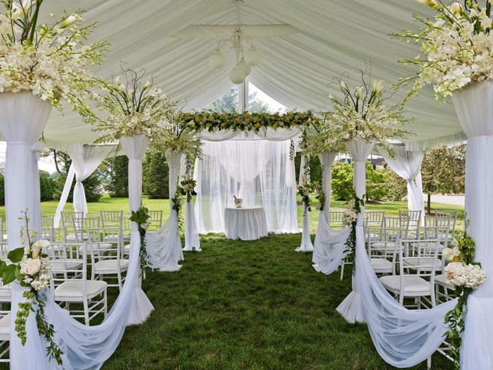 Tmx 1366657722693 Westminster Hotel Outdoor Wedding Ceremony Livingston, NJ wedding venue