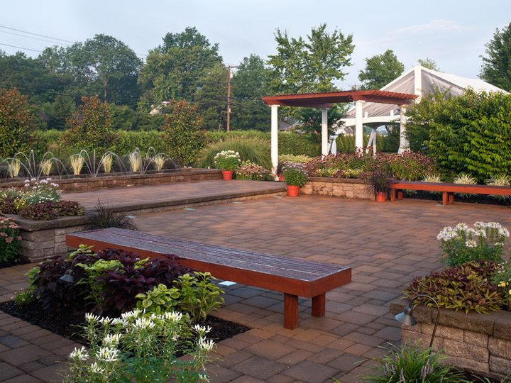 Tmx 1366657726355 Westminster Hotel Planted Patio Livingston, NJ wedding venue