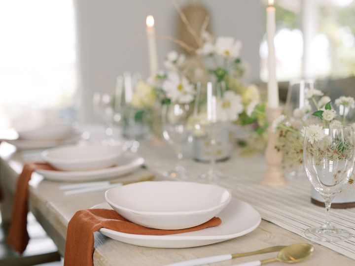 Guest Table, Elopement Style