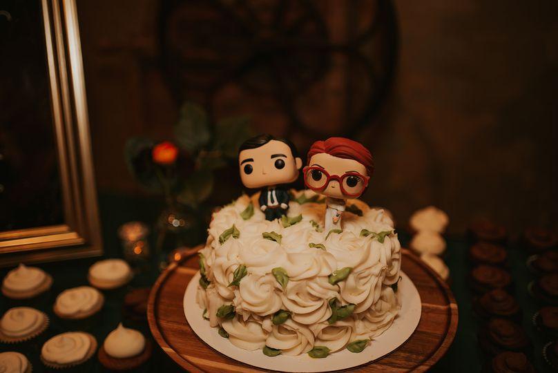 Baker's wedding cake