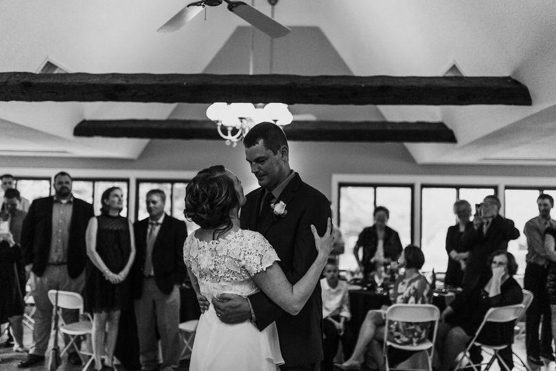 First dance as newlyweds   Jess Cremins Photo & Video