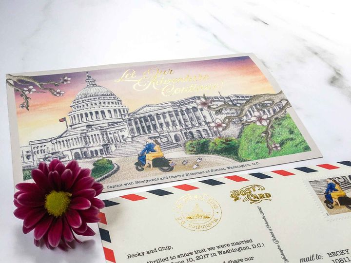 Tmx 1524681509 C7a3dad4625ff35a 1524681507 C5e3be63ced5ba1f 1524681506232 1 Type A Invitations Washington, DC wedding invitation