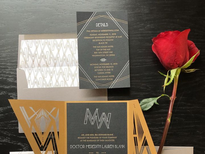 Tmx Typea Moderngatsby Goldandsilver Invitationsuite3 51 761987 V1 Washington, DC wedding invitation