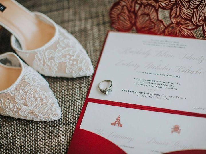 Tmx Typeainvitations Burgundyblush Laceinspired Invitations Adirondackchair Beach 51 761987 1571070095 Washington, DC wedding invitation