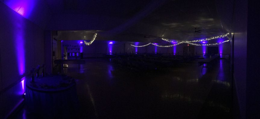 Purple Uplighting Package