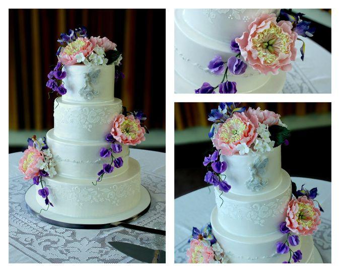 Renee Conner Cake Design Wedding Cake New Hampshire