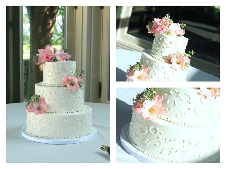 Tmx 1386021377477 Buttercream Swirls Collag Derry wedding cake