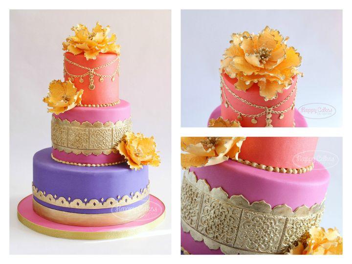 Tmx 1386021553849 Moroccan Baby Shower Cake Collag Derry wedding cake