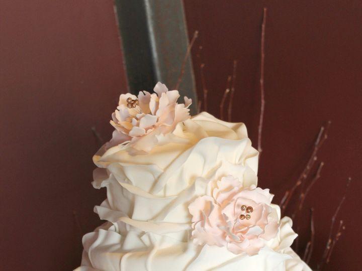Tmx 1386021595673 Ruffle Petal Cake 12 Derry wedding cake