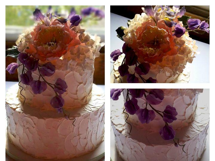 Tmx 1414507771669 2 Tier Rustic Buttercream Derry wedding cake