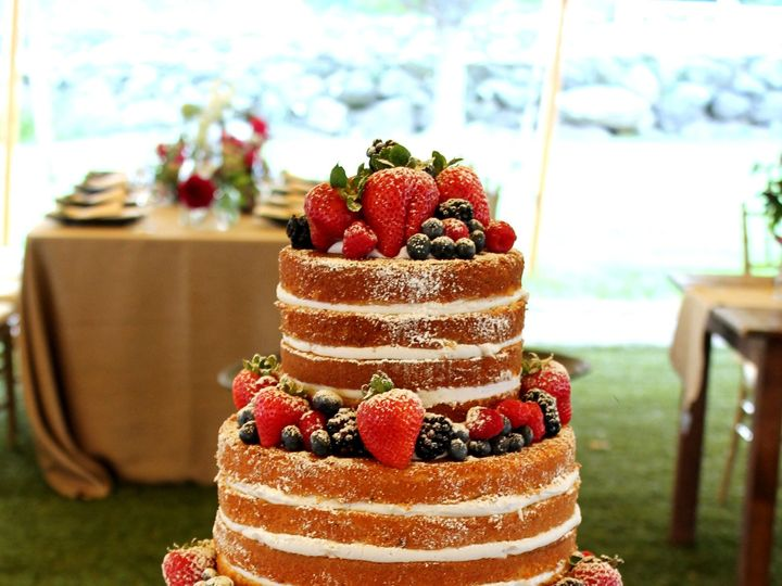 Tmx 1414507838151 Naked Cake With Berries 4w Derry wedding cake