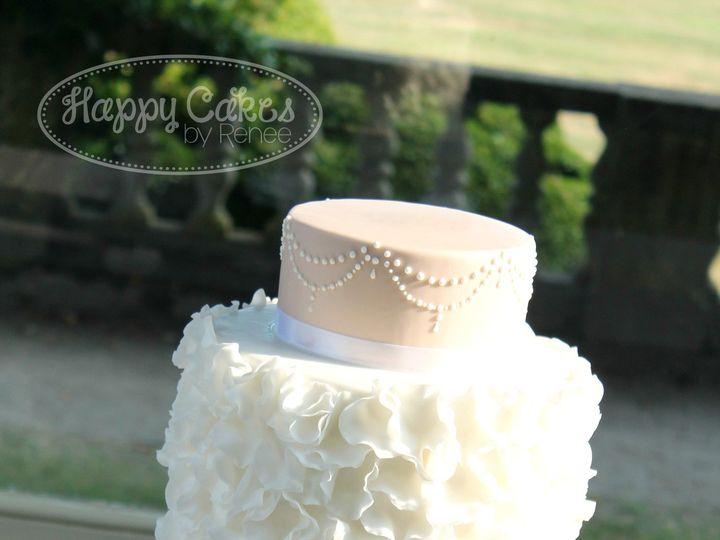 Tmx 1414507864242 Elegant Ruffles 3w Derry wedding cake