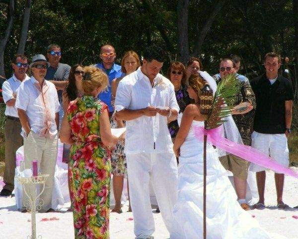 Fort DeSoto Beach ~ SeaSide Bride and Groom Package