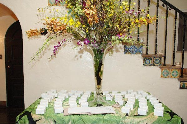 Place-card table