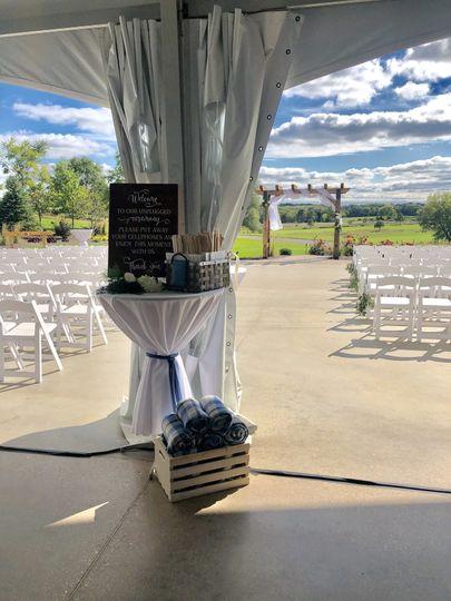 View to Ceremony