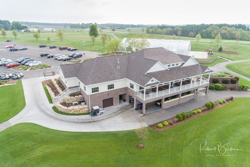Aerial View of the Clubhouse