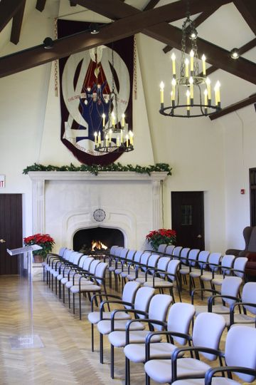 Fireside Room Ceremony