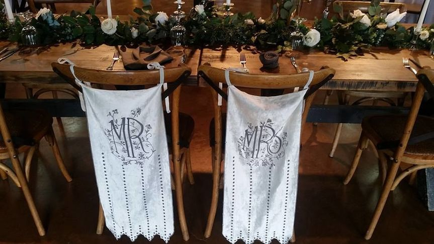 Table setting for couple