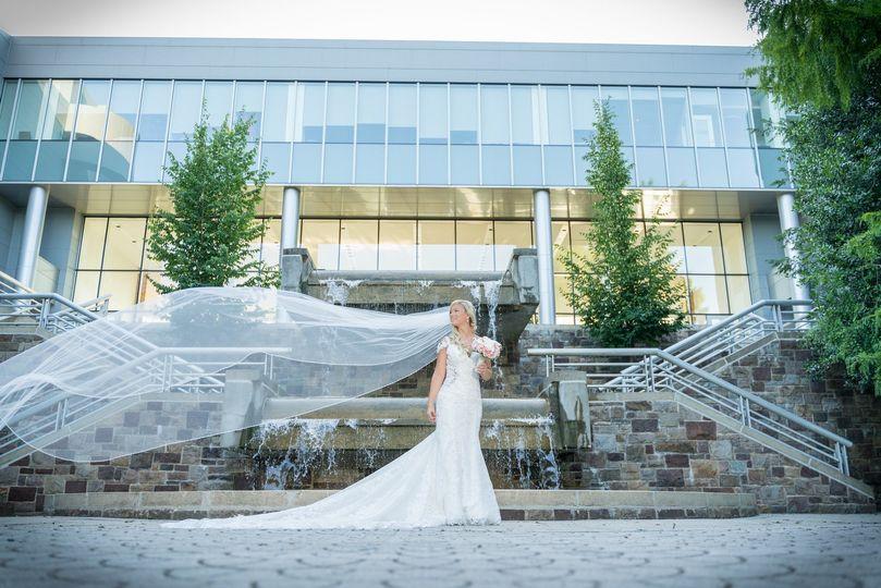 Bride Veil Flowing Formal