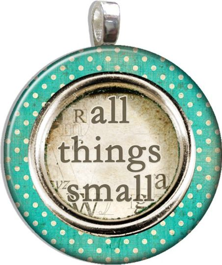 All Things Small Pendants and Accessories