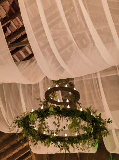 Hanging decor and lighting