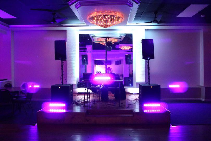 One of DJ Phanatic's special set ups