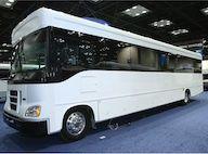 40 passenger coach bus