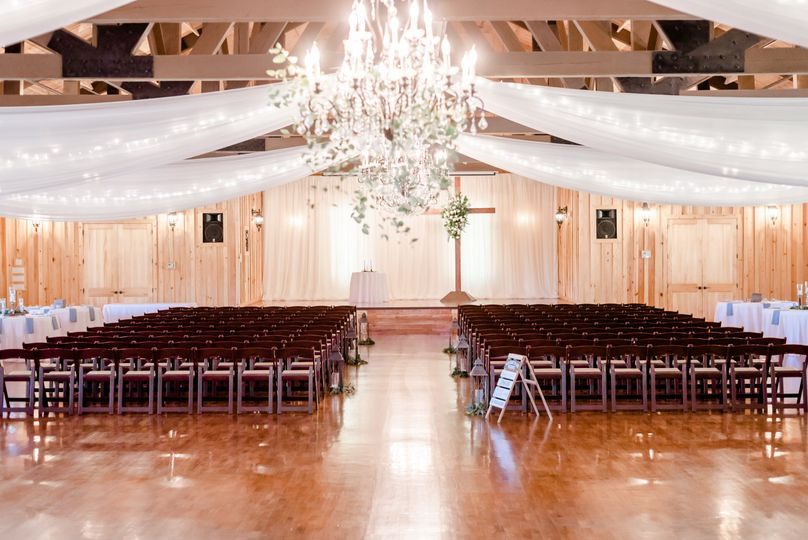 The Ranch - ceremony set-up