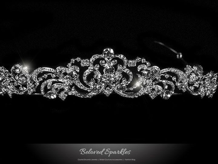 Tmx 1417452917702 Bridal Tiara Swarovski Crystal Vintage Wedding Rei Sierra Madre, CA wedding jewelry