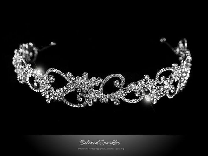 Tmx 1417453081496 Bridal Headband Vintage Crystal Tiara Celebrity Re Sierra Madre, CA wedding jewelry