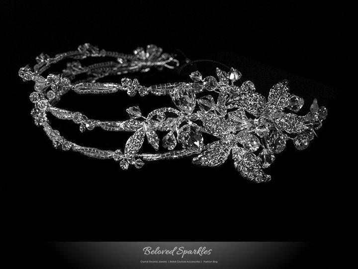 Tmx 1417453277642 Bridal Headband Swarovski Crystal Rhinestone Flora Sierra Madre, CA wedding jewelry