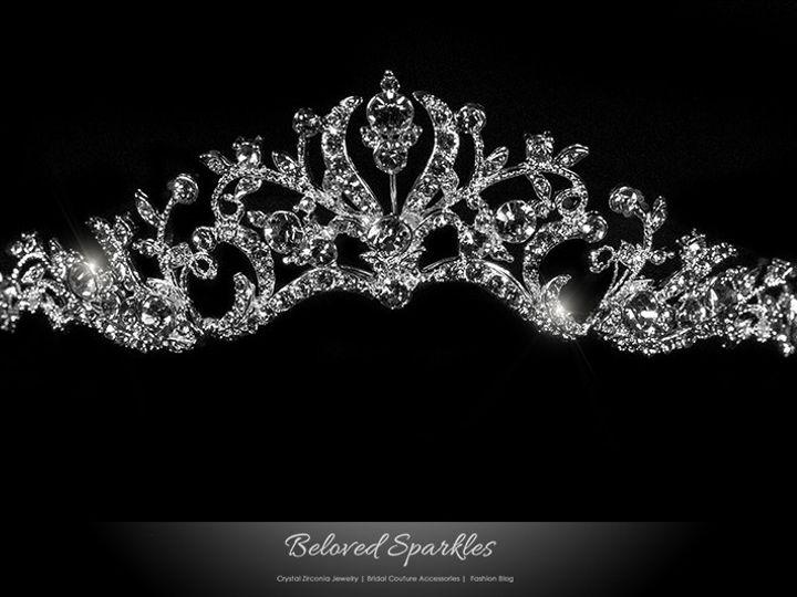 Tmx 1417453531777 Tiara Bridal Swarovski Crystal  Vintage Reign Tiar Sierra Madre, CA wedding jewelry