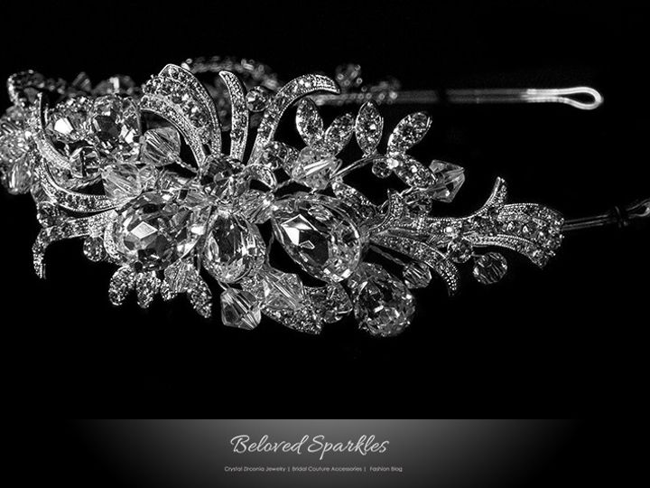 Tmx 1417454010304 Bridal Headband Swarovski Crystal Floral Vintage R Sierra Madre, CA wedding jewelry