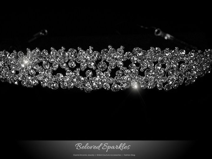 Tmx 1417454352669 Bridal Swarovski Crystal Tiara Rhinestone Headband Sierra Madre, CA wedding jewelry