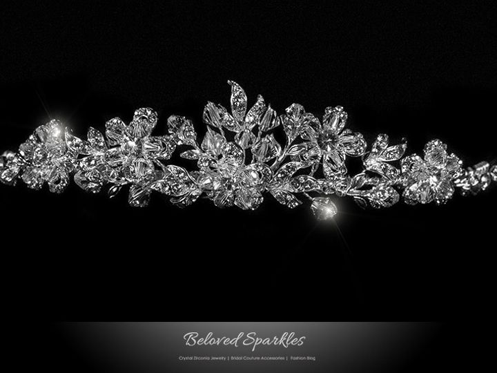Tmx 1417454465460 Bridal Swarovski Crystal Floral Vintage Reign Vict Sierra Madre, CA wedding jewelry