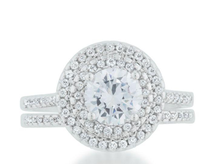 Tmx 1499962656417 3 Kleta 2 4 Carat Ct Cz Cubic Zirconia Round Cut D Sierra Madre, CA wedding jewelry