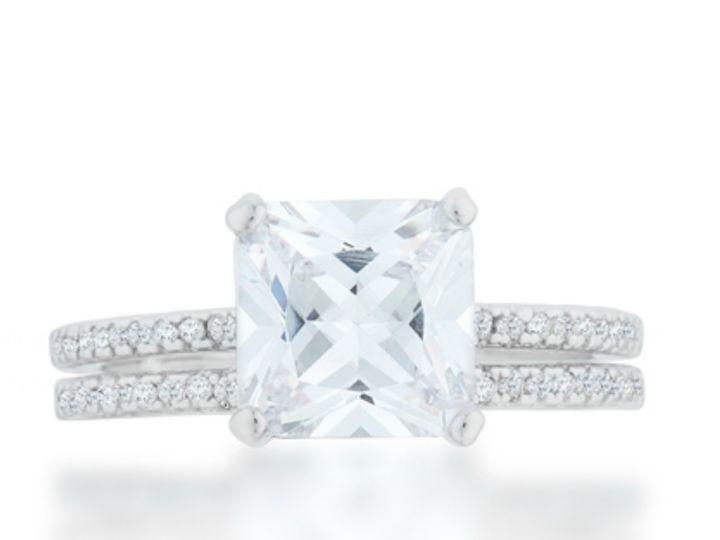 Tmx 1499962676325 3 Lexy Princess Solitaire 2.5 Ct Carat Cubic Zirco Sierra Madre, CA wedding jewelry