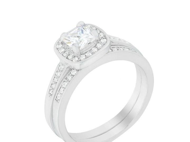 Tmx 1499962732928 1 Grable Cushion Cut Halo 1 2 Carat Ct Cubic Zirco Sierra Madre, CA wedding jewelry