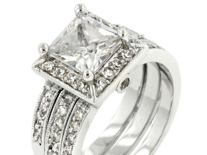 Tmx 1499962778989 1 Theodra 2 4 Carat Cubic Zirconia Cz Faux Diamond Sierra Madre, CA wedding jewelry