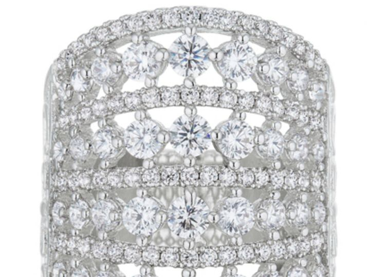 Tmx 1499962864625 3 Charlyn Art Deco Cluster Statement Cocktail 5 Ca Sierra Madre, CA wedding jewelry