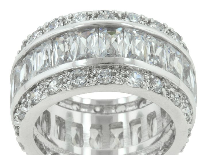 Tmx 1499962992307 1 Kinsley Radiant Cut Eternity Statement Cocktail  Sierra Madre, CA wedding jewelry