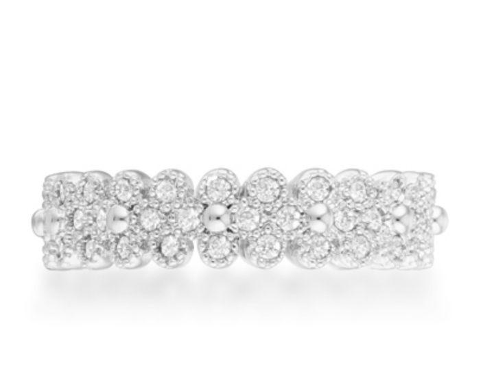 Tmx 1499963035193 3 Clara 1ct Carat Silver Rhodium Plated Textured B Sierra Madre, CA wedding jewelry