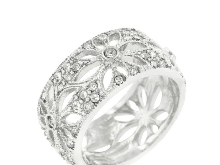 Tmx 1499963101505 1 Naspa Floral Filigree 2 Carat Cubic Zirconia Cz  Sierra Madre, CA wedding jewelry