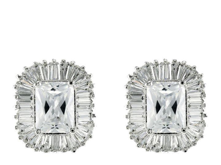 Tmx 1499963126389 1 Calia Radiant Cut Baguette Halo Cubic Zirconia C Sierra Madre, CA wedding jewelry