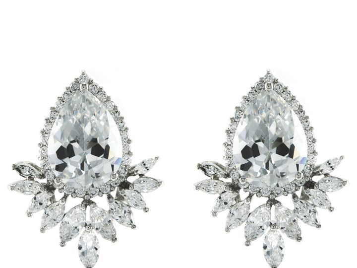 Tmx 1499963147579 1 Cameo Pear Cut Tear Drop Marquise Cluster Cubic  Sierra Madre, CA wedding jewelry