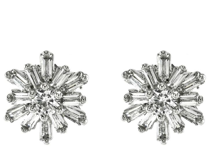 Tmx 1499963190319 1 Fontine Baguette Cluster Snowflake Cubic Zirconi Sierra Madre, CA wedding jewelry