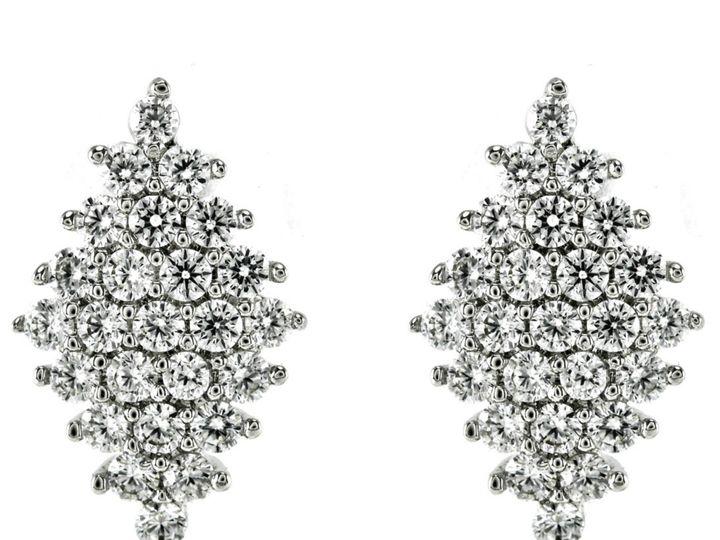 Tmx 1499963213714 1 Harlie Clear Diamond Shape Cluster Cubic Zirconi Sierra Madre, CA wedding jewelry