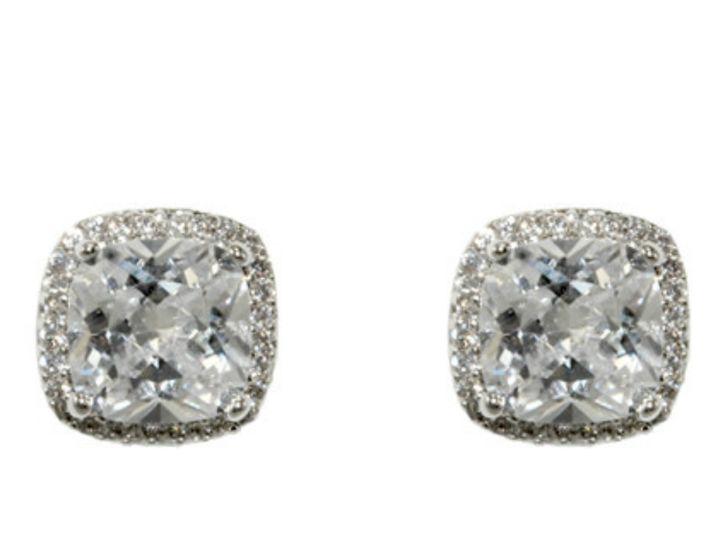 Tmx 1499963255675 1 Kalina Cushion Cut Stone Halo Clear Cubic Zircon Sierra Madre, CA wedding jewelry